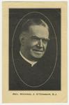 Michael O'Connor memorial holy card
