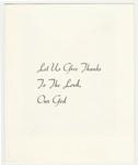 Joseph Peters golden jubilee card