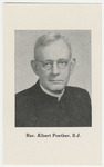 Albert Poetker memorial holy card