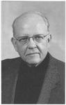 J. Leo Klein memorial holy card