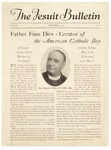 Father Finn Dies - Creator of the American Catholic Boy by The Jesuit Bulletin