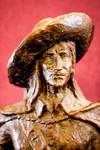 D'Artagnan Bronze Statue, Front