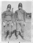 Quaterbacks Tommy Mussio and Dick Bray