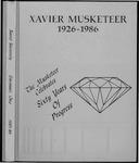 Musketeer 1986 by Xavier University, (Cincinnati, Ohio)