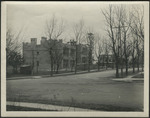 Edgecliff Hall and Hinkle Hall from corner of Dana Avenue and Herald Avenue